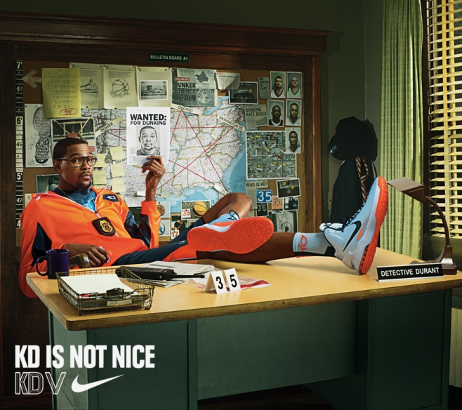 """e72f61ddf90f Nike KD V """"Ice Blue""""…Release Reminder. Kevin Durant - """"KD Is Not Nice"""""""