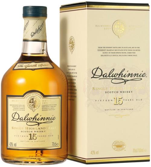 Dalwhinnie Single Malt 15 Year Old Scotch Whisky