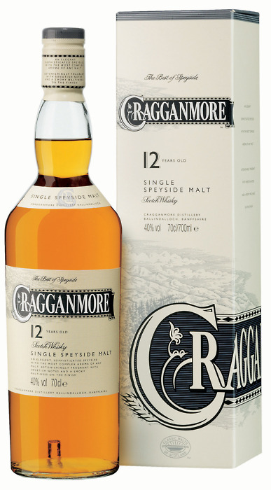 Cragganmore 12 Year Old - Speyside Single Malt Scotch Whisky - 20cl - 40% ABV